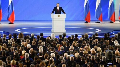 «Обращаюсь к гражданам России: дорогие мои…»